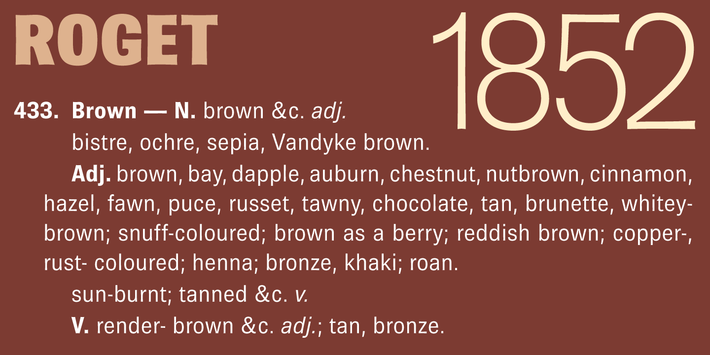 Brown Pro font family - 4