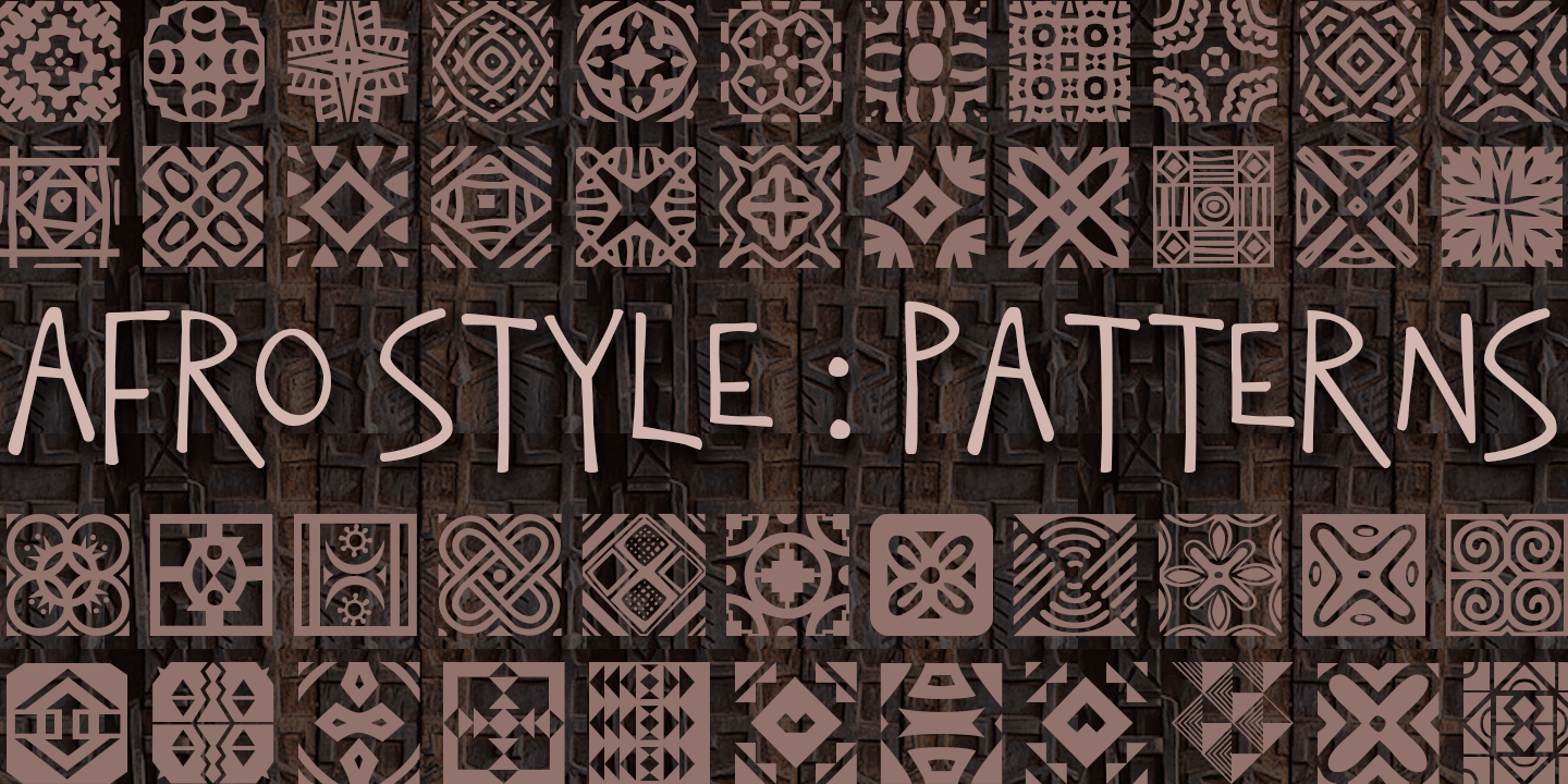 fontspring african pattern fonts by scholtz fonts