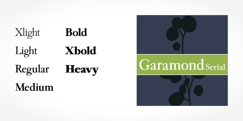 Fontspring | Garamond Serial Fonts by SoftMaker