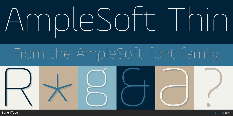 Fontspring   Similar Fonts To AmpleSoft