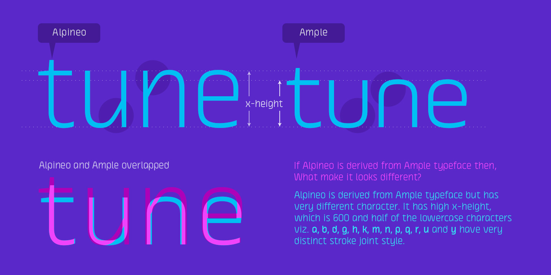 Fontspring alpineo fonts by soneritype gallery altavistaventures Gallery