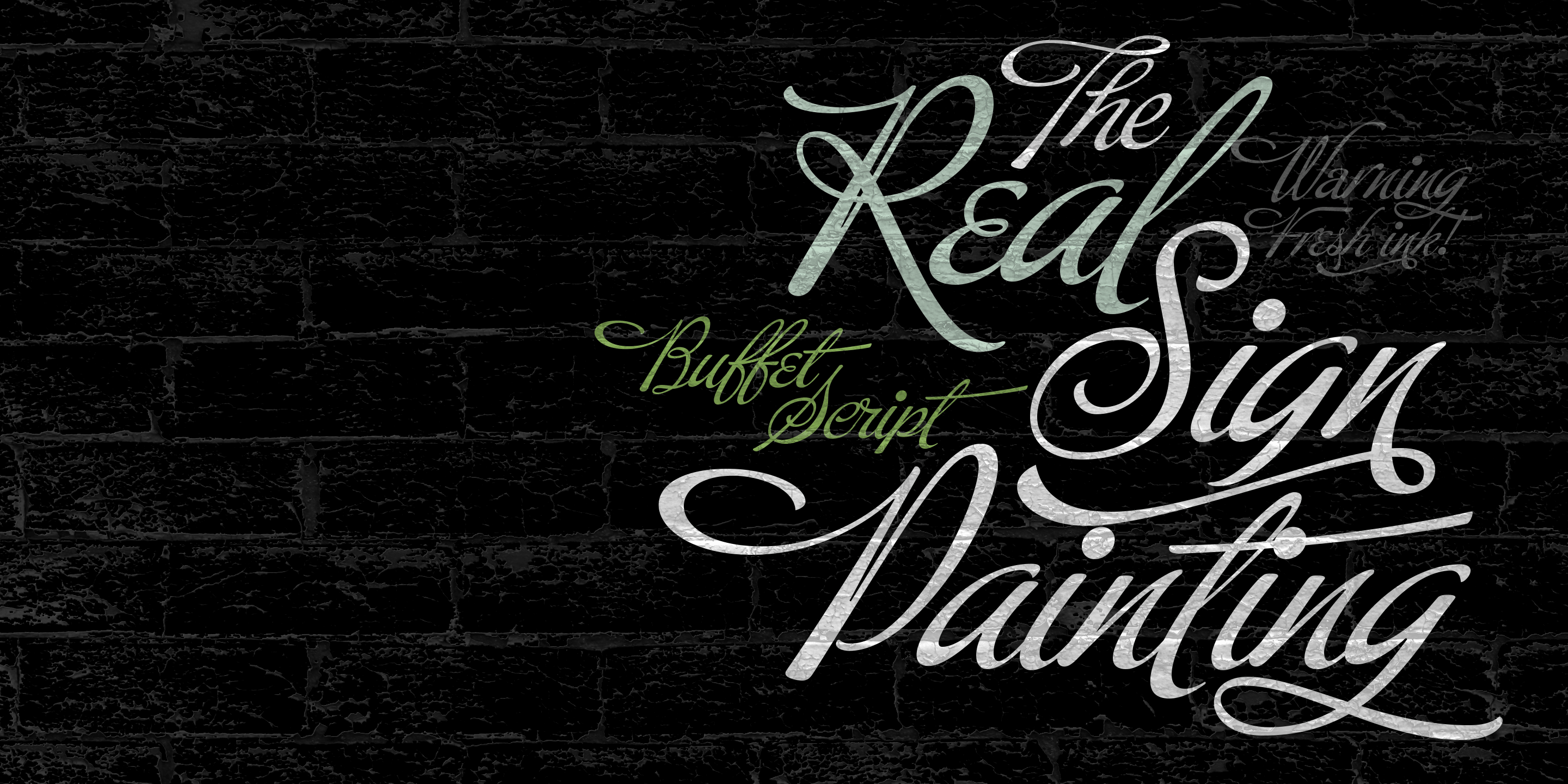 Buffet Script Font by Sudtipos