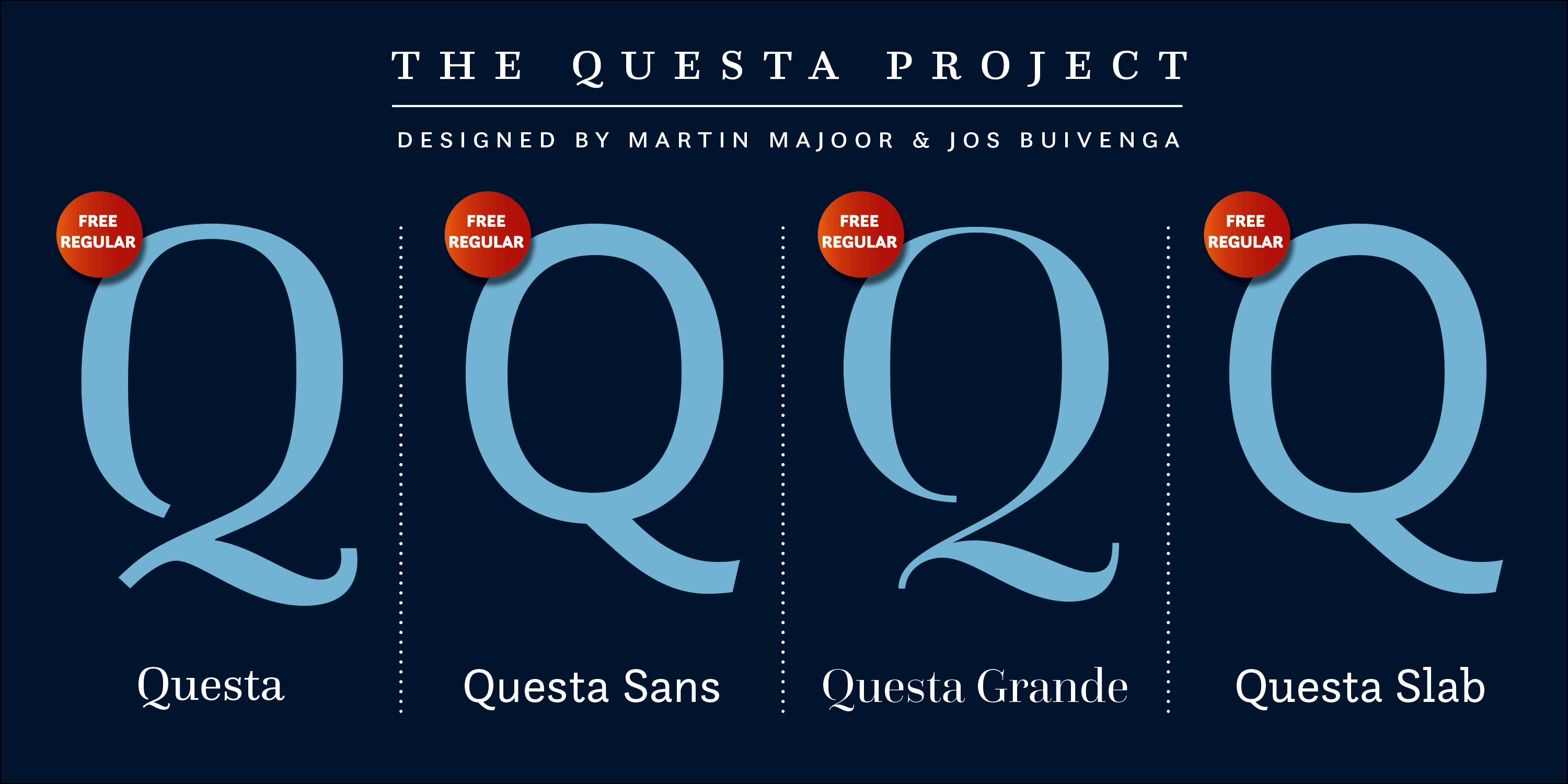 Questa Complete font collection