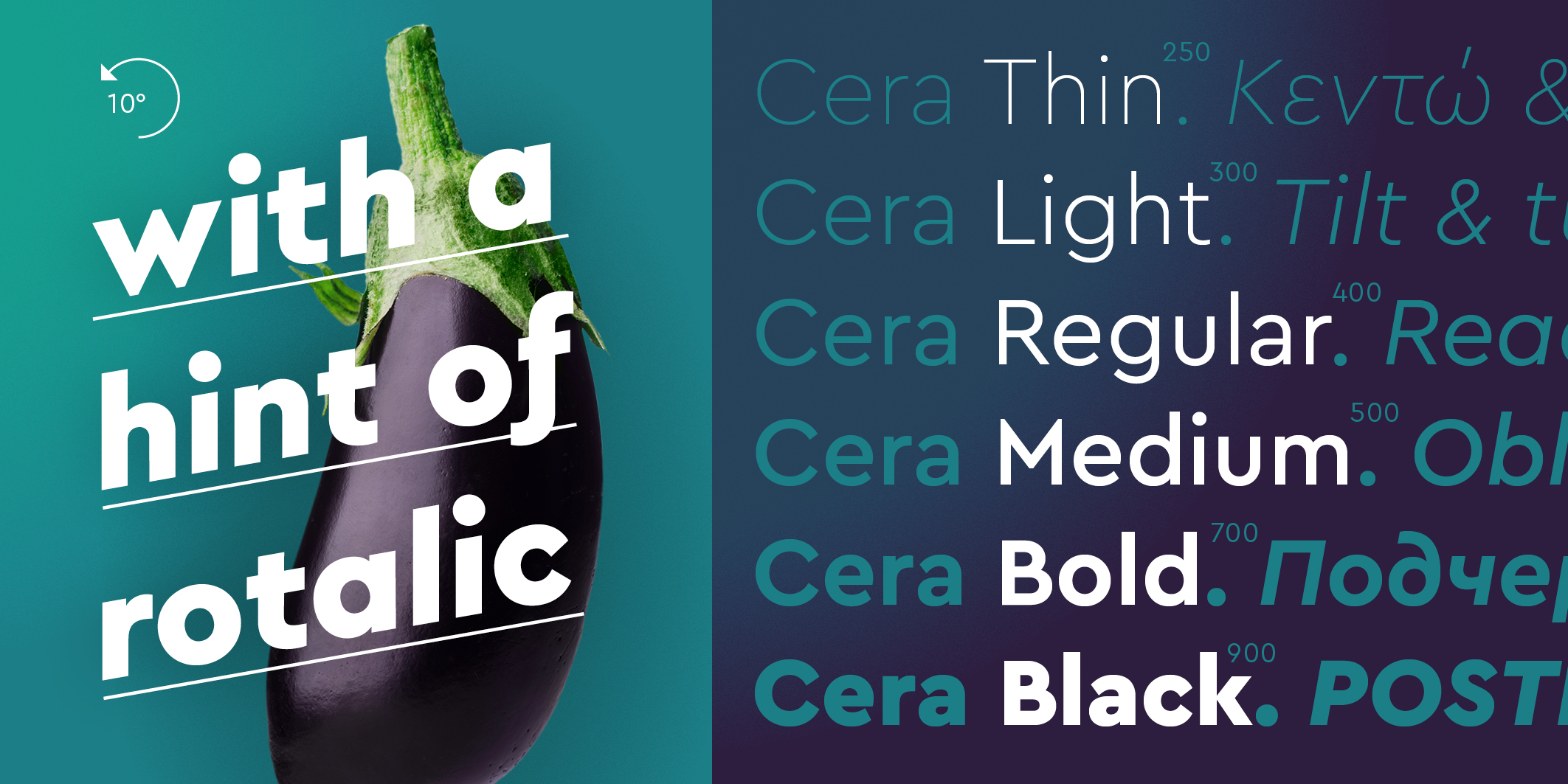 Cera & Cera Stencil PRO Collection font collection - 5