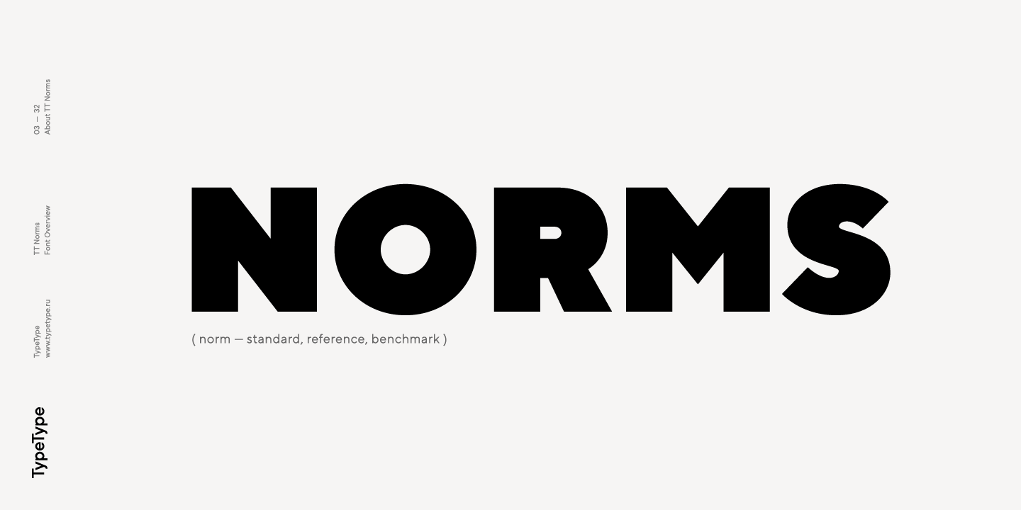 Fontspring Tt Norms Fonts By Typetype