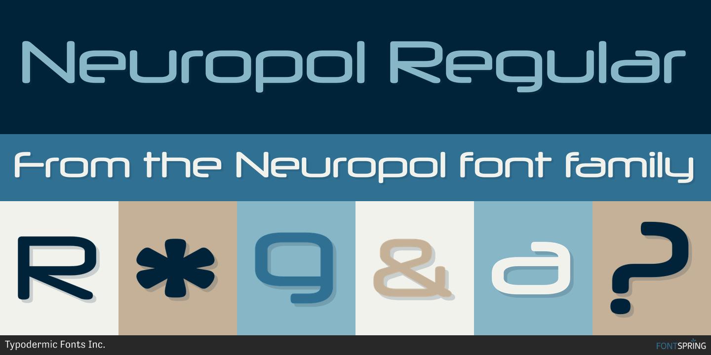 Fontspring | Similar Fonts To Neuropol