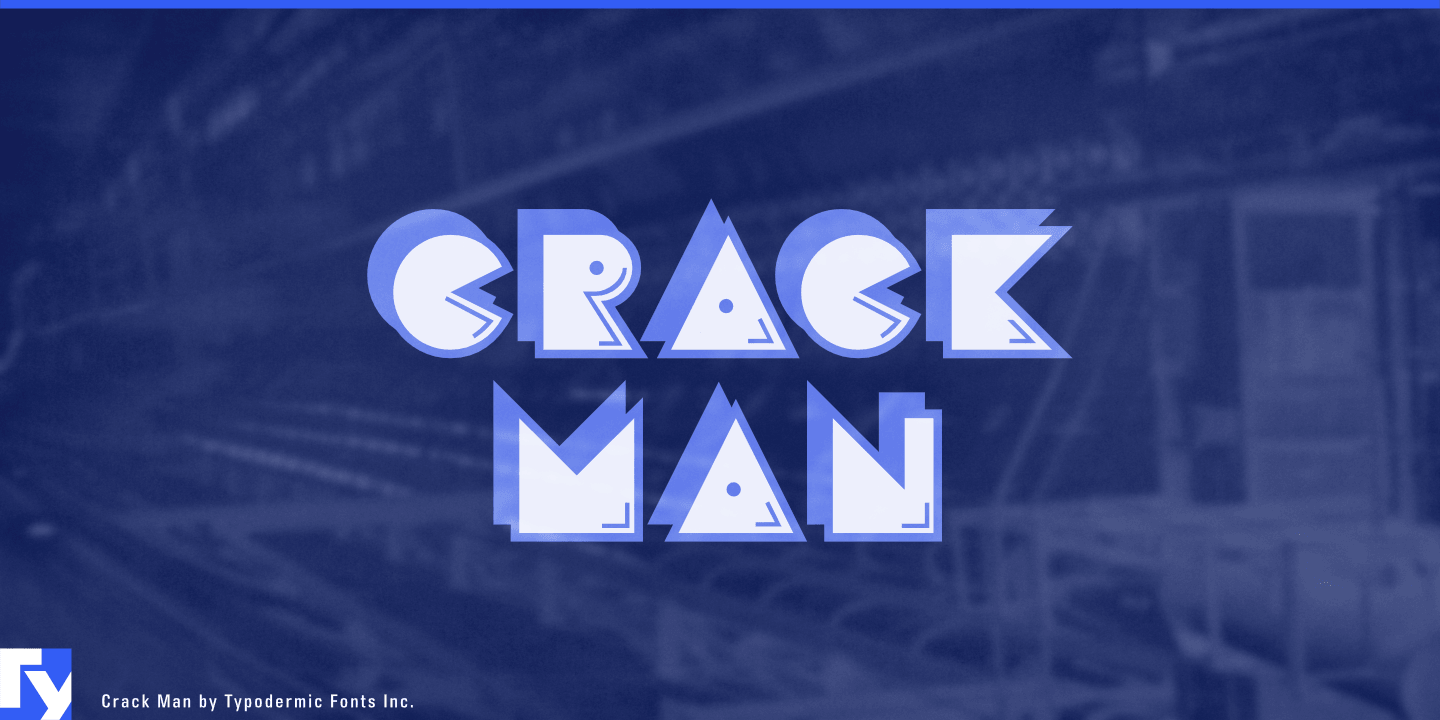Fontspring | CrackMan Fonts by Typodermic Fonts Inc