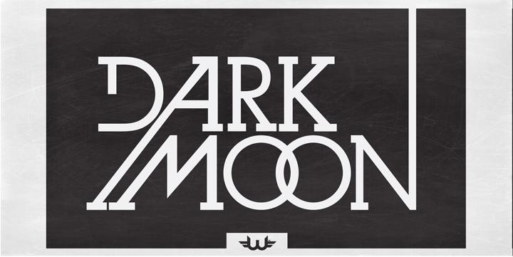 Fontspring   Dark Moon Serif Fonts by Weslo Fonts