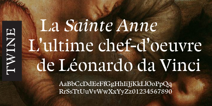 Twine font family - 3