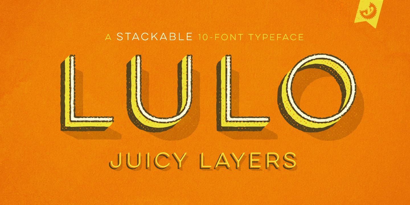 Lulo font family