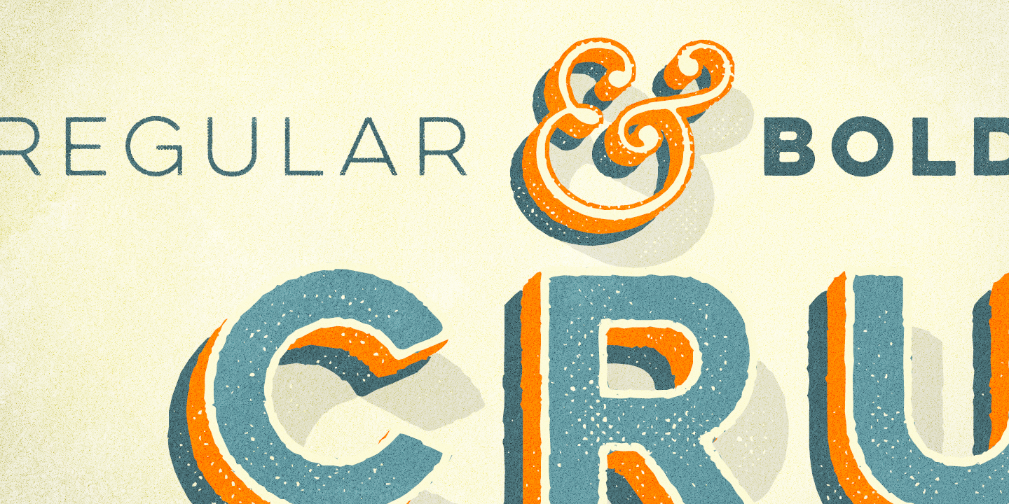 Lulo font family - 3