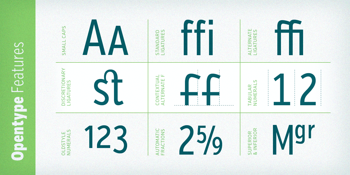 Verb Compressed font family - 7
