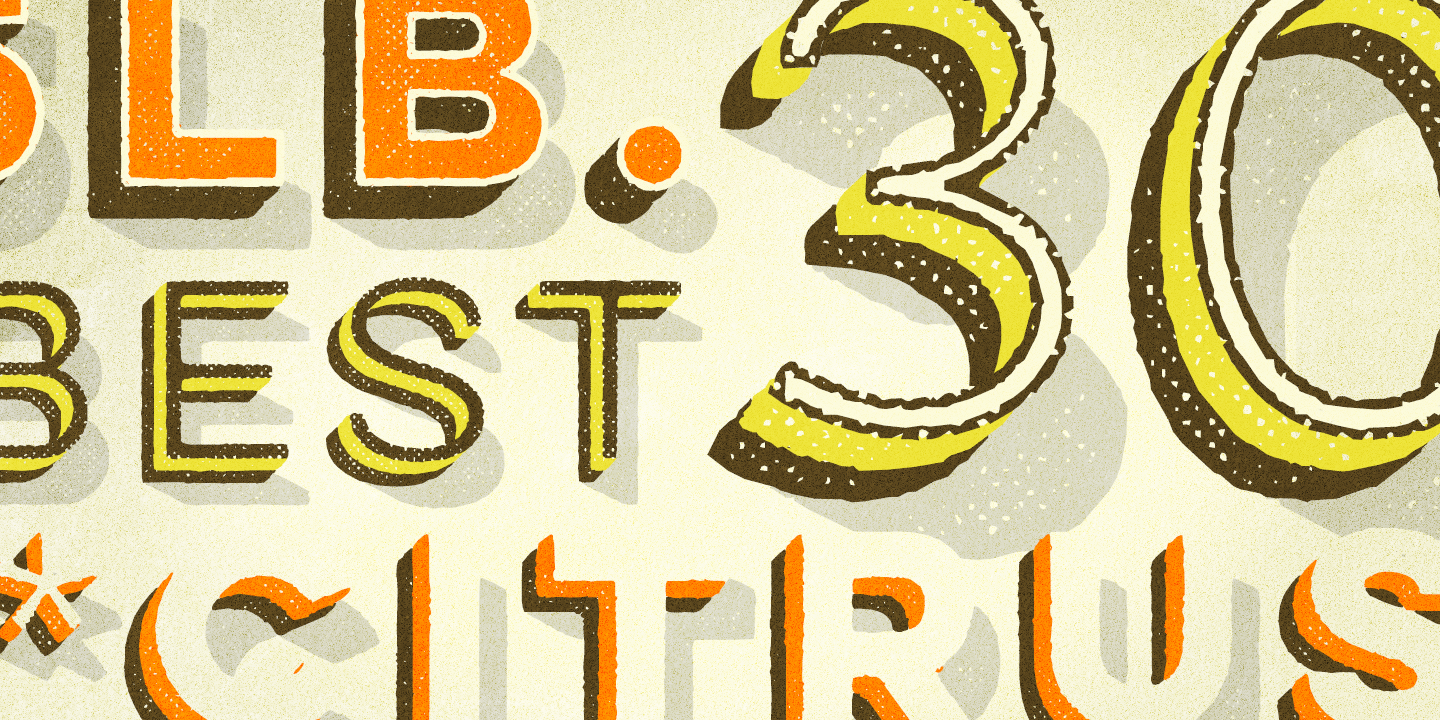 Lulo font family - 7