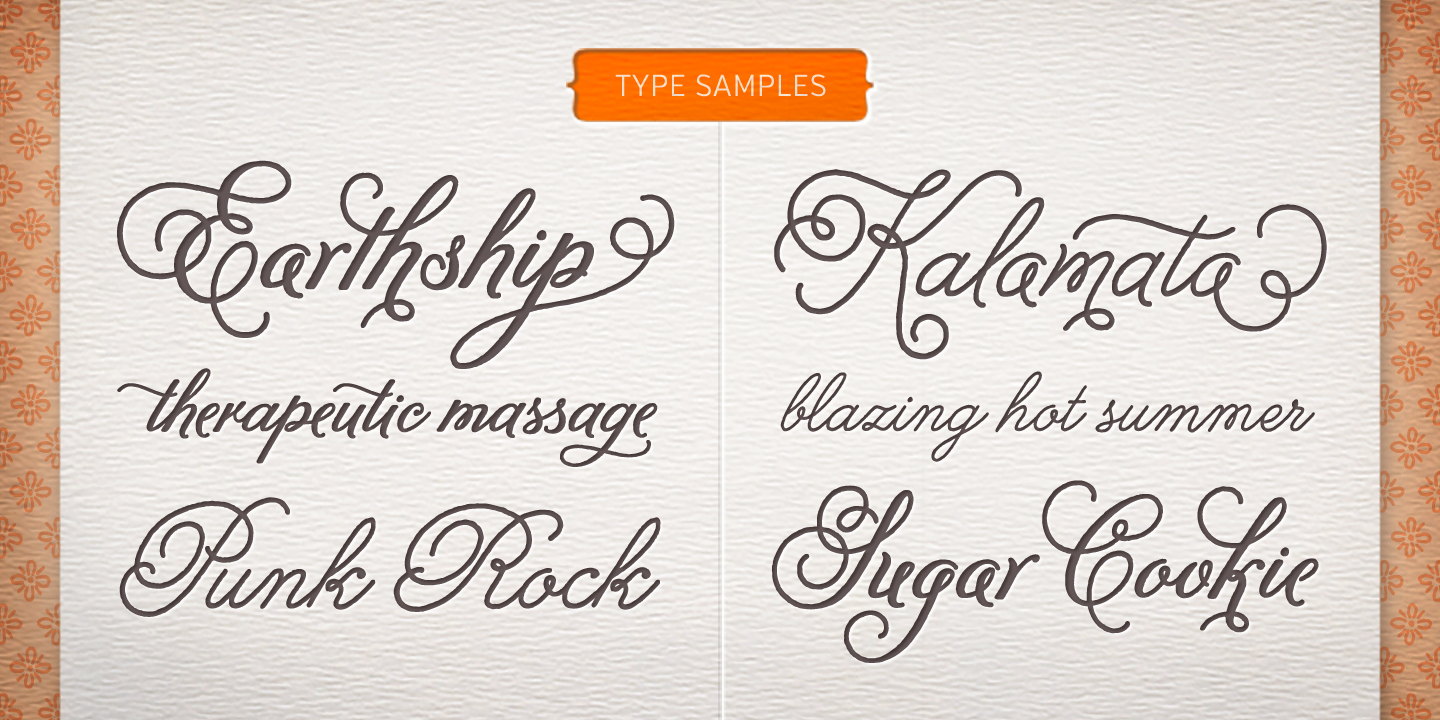 Fontspring  Melany Lane Fonts By Yellow Design Studio