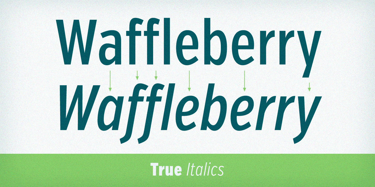 Verb Compressed font family - 6