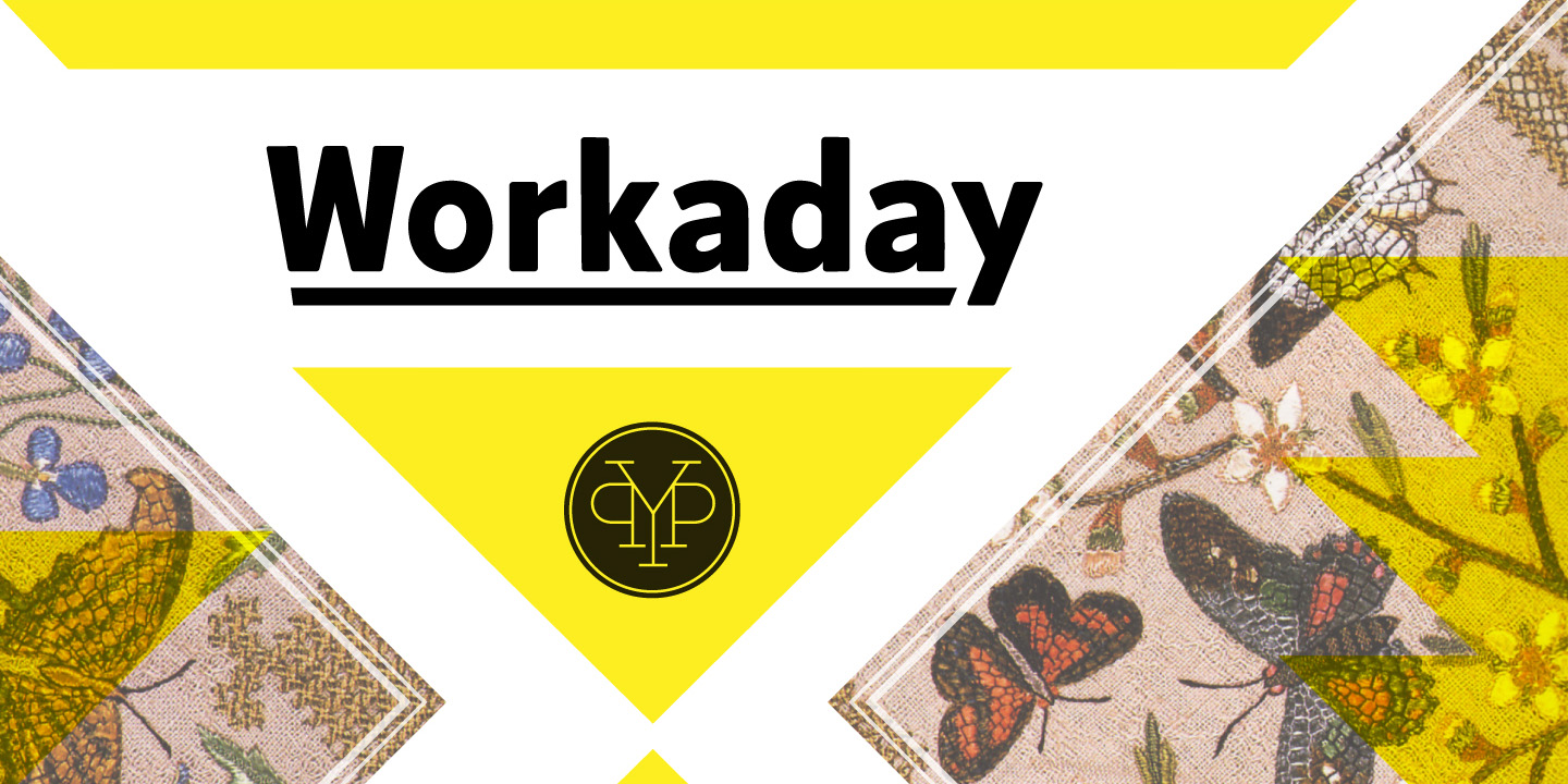Workaday font family