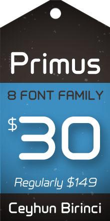 Primus Sale