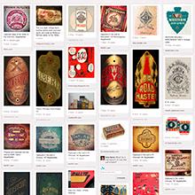 Pinterest Vintage Typography