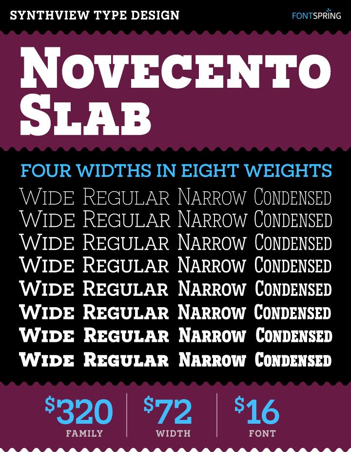 Novocento Slab