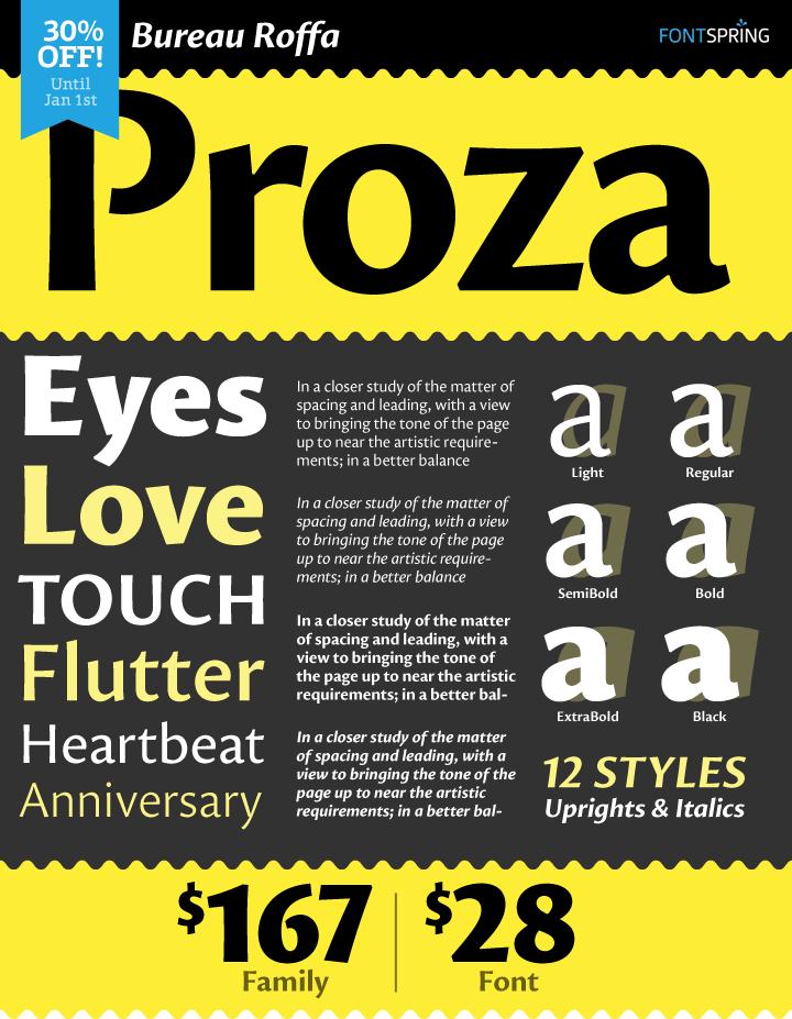 Proza Font Family