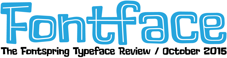 fontface header