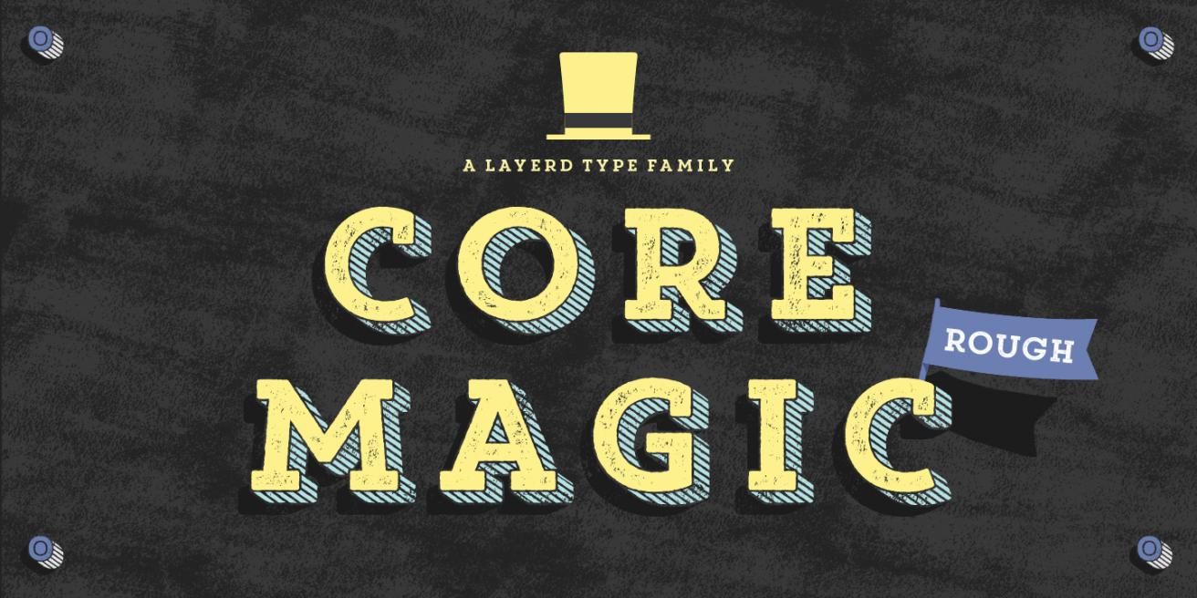 Core Magic Rough Poster