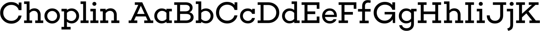 Choplin Sample Text