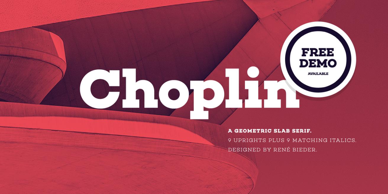 Choplin Poster