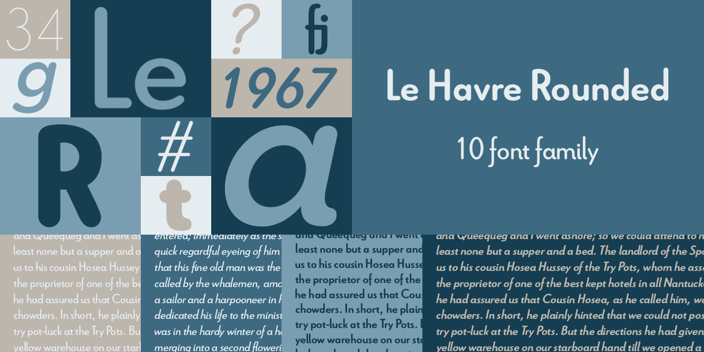 Le Havre Rounded Poster