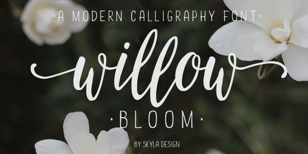 Willow Bloom Poster
