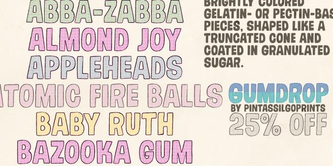Gumdrop Poster