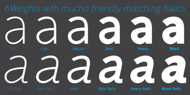 Mucho Sans Poster 2