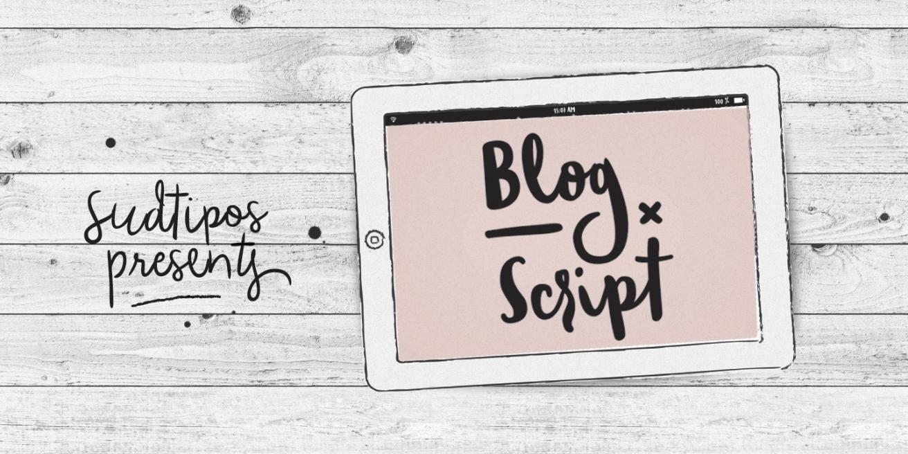 Blog Script Poster