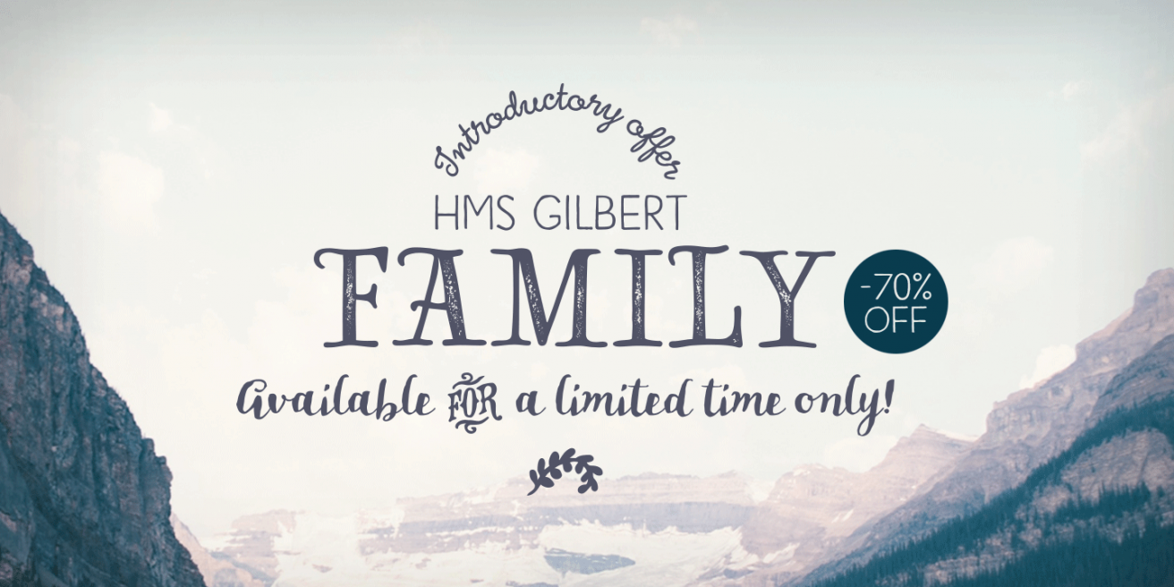 HMS Gilbert Poster