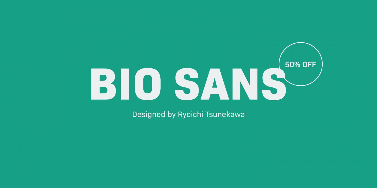 Bio Sans Poster