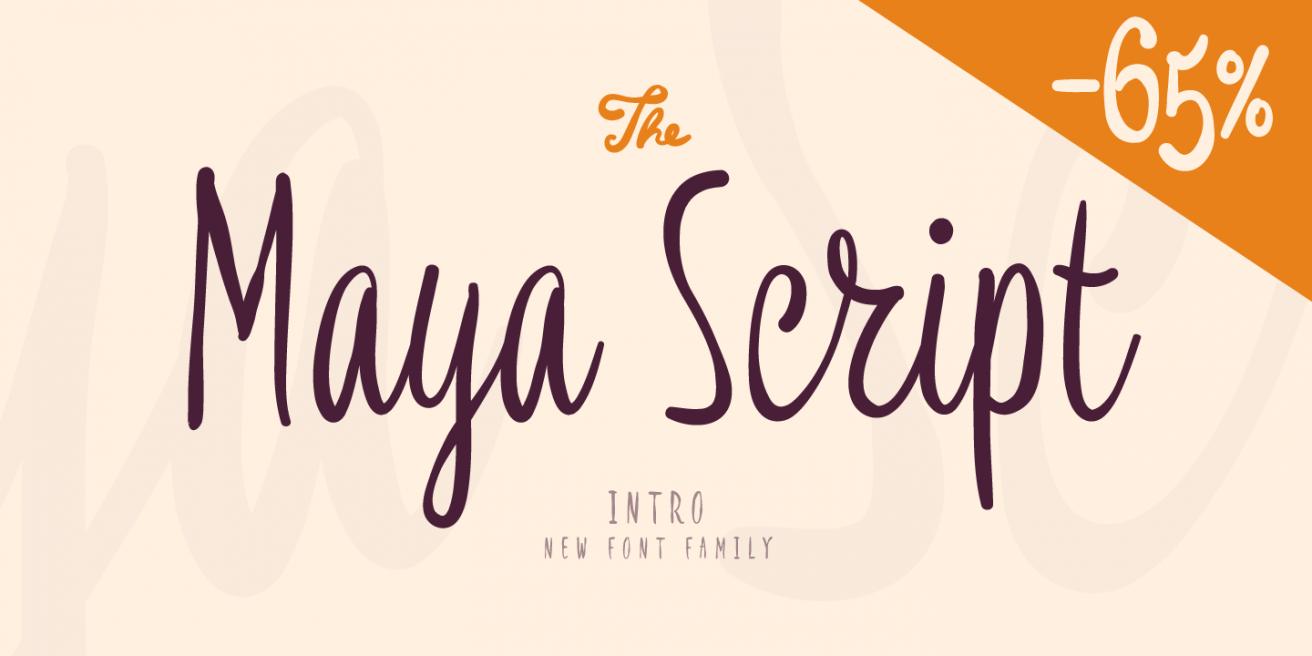 Maya Script Poster
