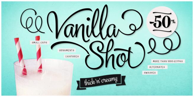 Vanilla Shot Poster