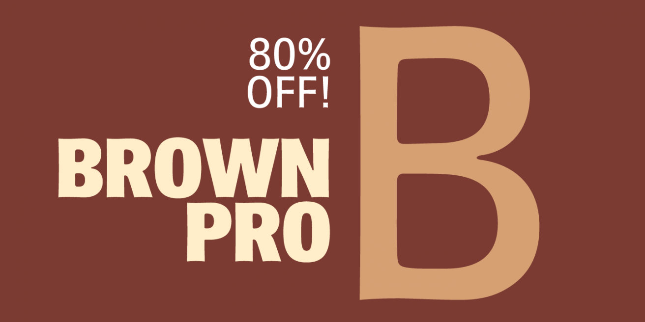 Brown Pro Poster