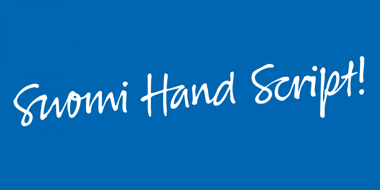Suomi Hand Poster