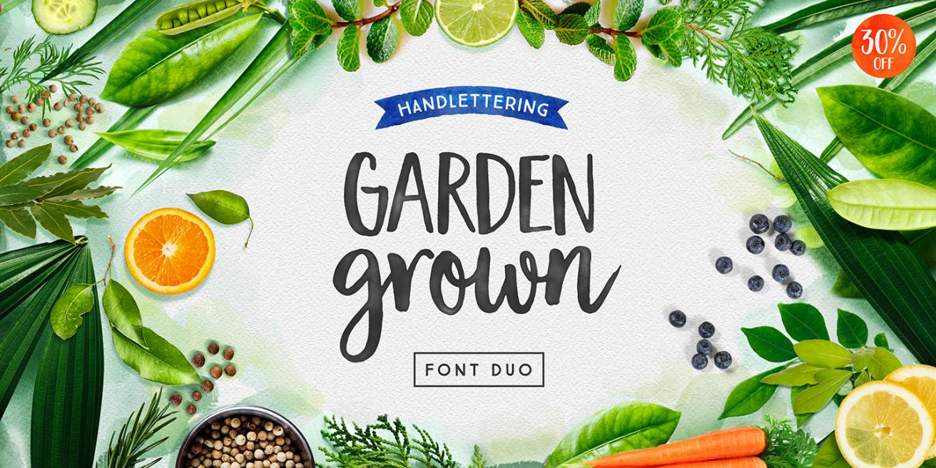 Garden Grown Poster