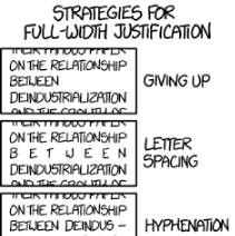 Full-Width Justification