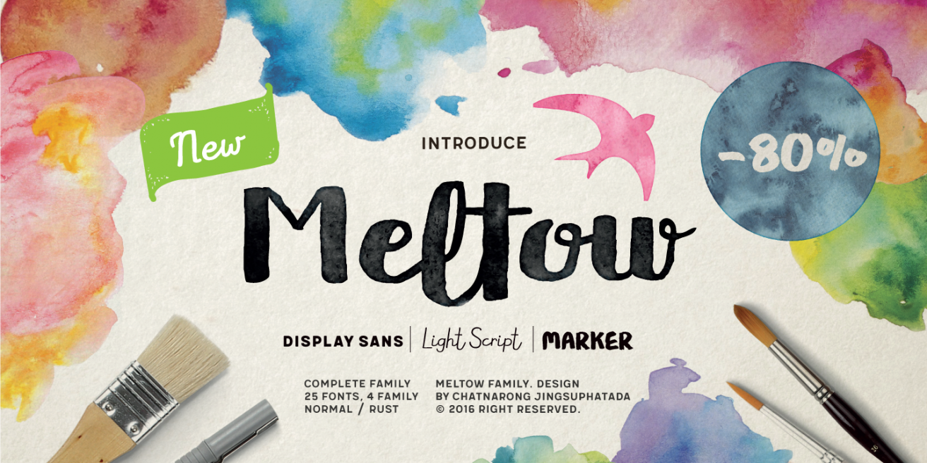 Meltow Poster