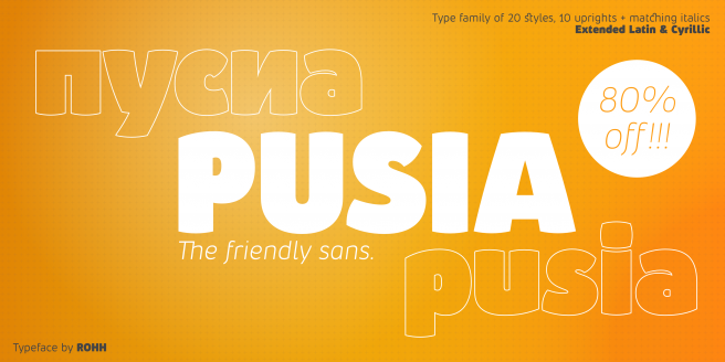 Pusia Poster