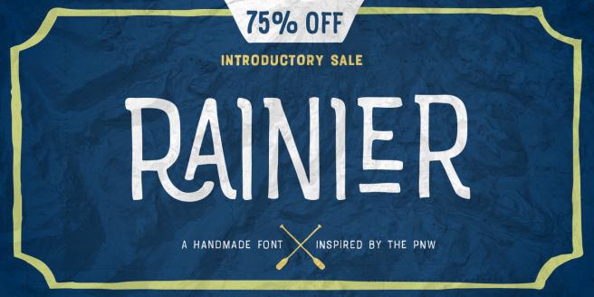Rainier Poster