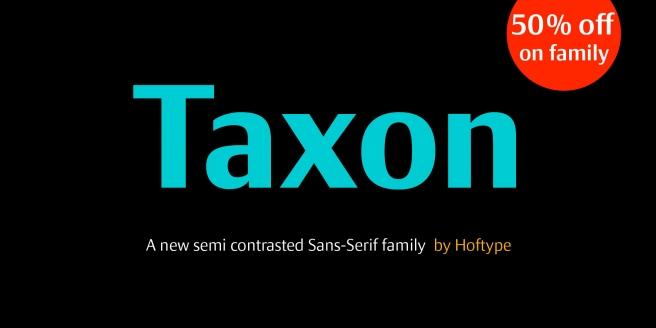 Taxon Poster