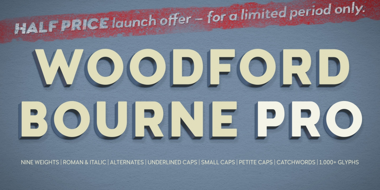 Woodford Bourne PRO Poster