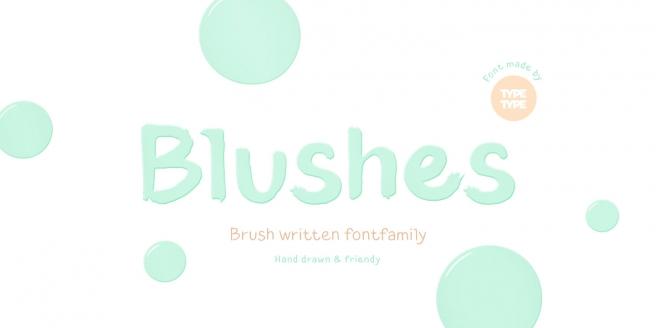 TT Blushes Poster
