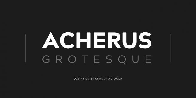 Acherus Grotesque Poster