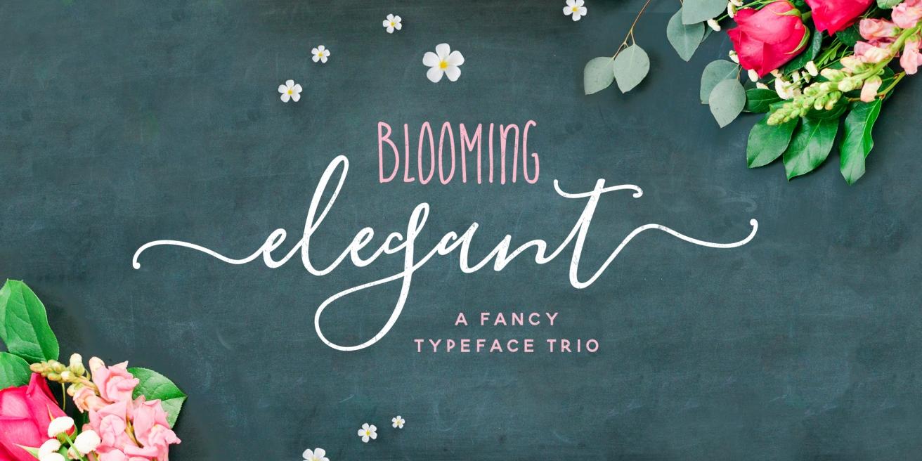 Blooming Elegant Poster
