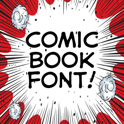 Comic Book Fonts